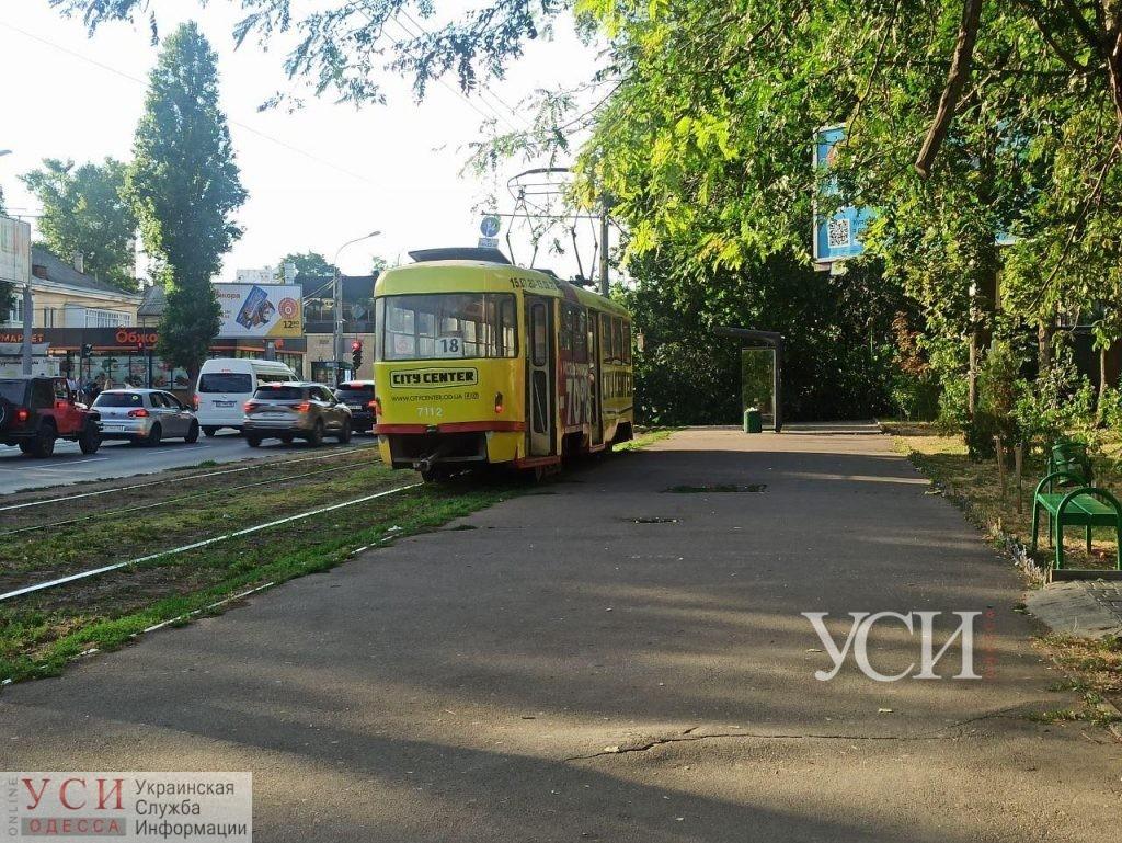 Трамвай №18 изменит маршрут «фото»