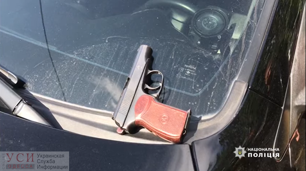 Полиция нашла стрелявших в машину одесского активиста (видео) «фото»