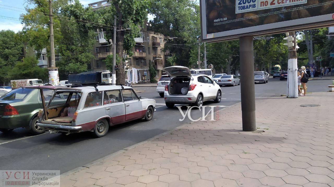 На проспекте Шевченко из-за аварии образовалась пробка (фото) «фото»