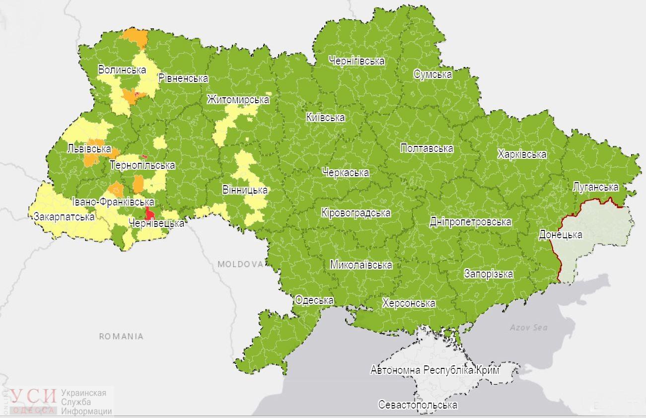 В Украине вступили в силу новые правила карантина и разделение по цветовым зонам: Одесса – пока в зеленой (карта) «фото»