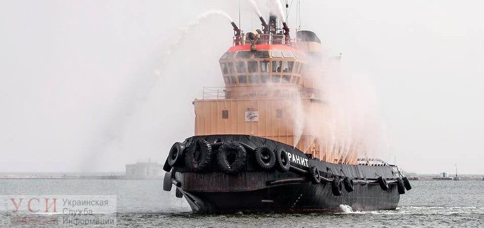 Испытания «Гранита»: в Одесском порту проверяют работу самого мощного буксира «фото»