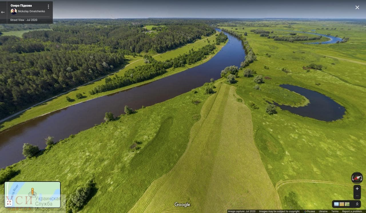 По нацпарку в Одесской области теперь можно «погулять» из дома «фото»