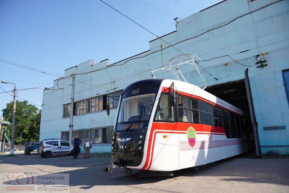 В Запорожье появился клон одесского трамвая «Одиссей» (фото) «фото»