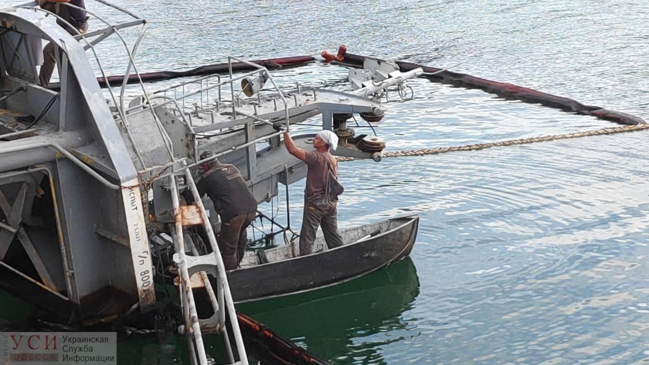 Подготовка к подъему Delfi: очистка воды и «уборка» препятствий (фото) «фото»