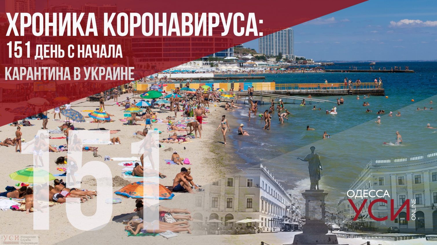 Хроника коронавируса: 151 день с начала карантина в Украине «фото»