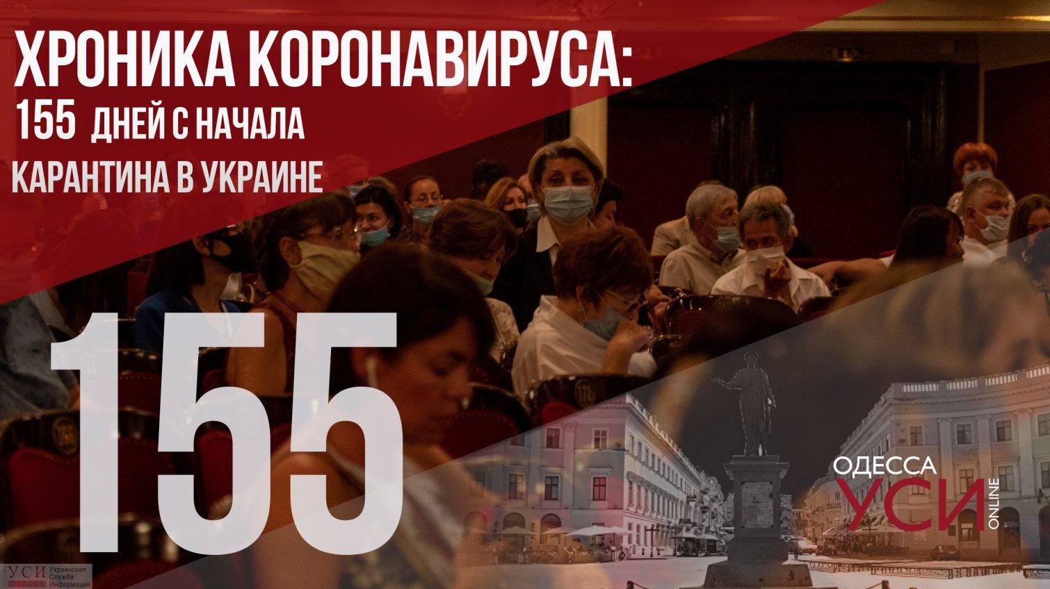 Хроника коронавируса: 155 день с начала карантина в Украине, снова антирекорд «фото»