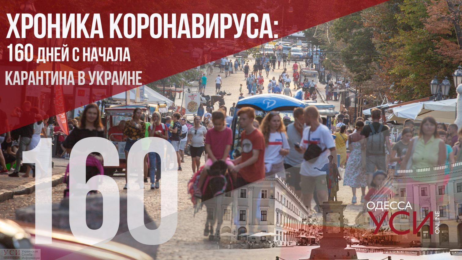 Хроника коронавируса: новый антирекорд на 160-й день с начала карантина в Украине «фото»