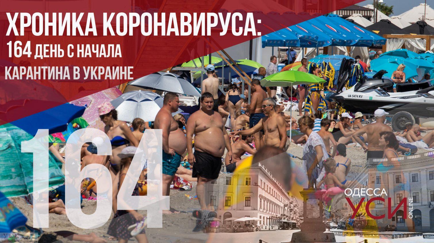 Хроника коронавируса: 164 день со дня начала карантина «фото»