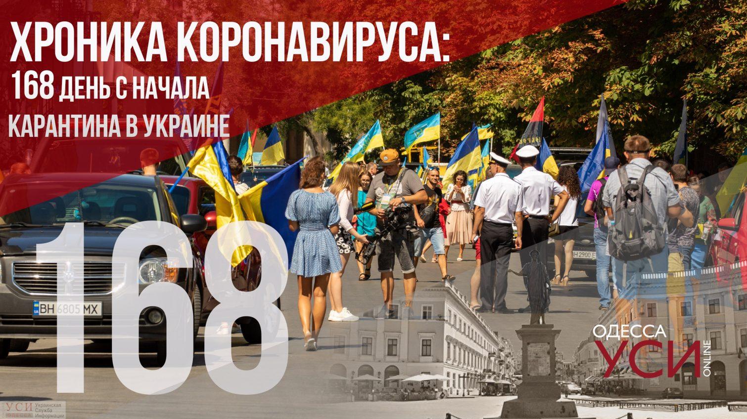 Хроника коронавируса: на 168 день в Украине зарегистрировали почти 2 тысячи новых случаев «фото»