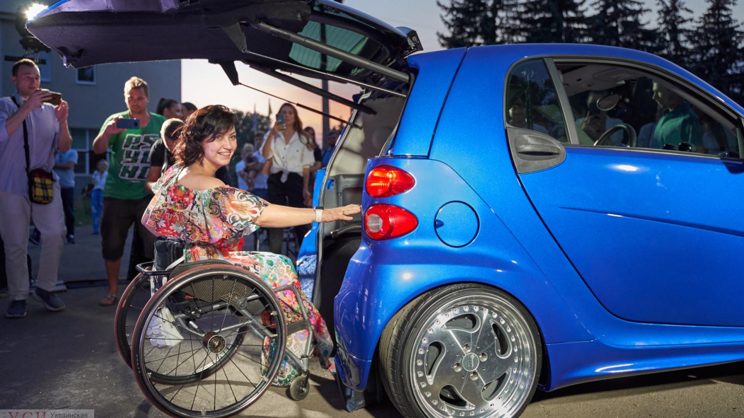 В Одессе создали прототип первого украинского электромобиля для людей с инвалидностью (фото) «фото»