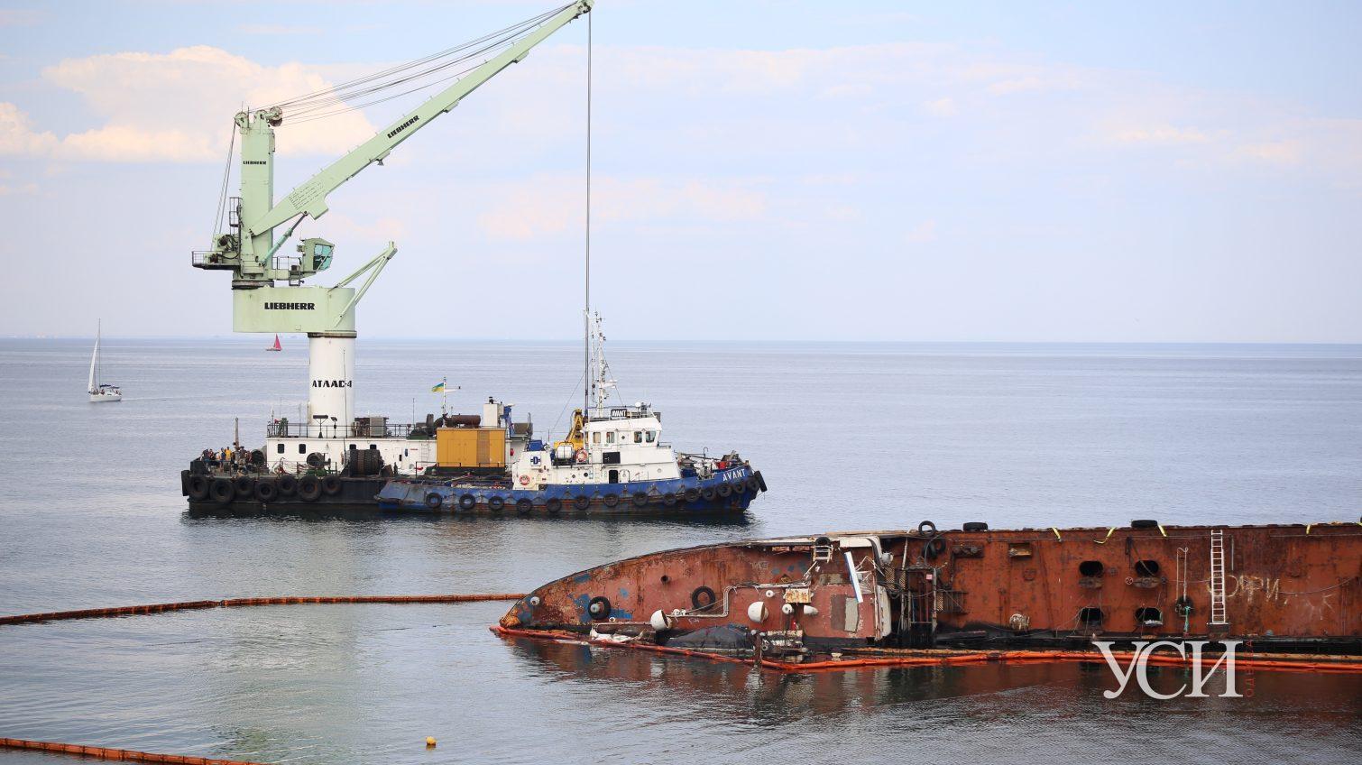 Эпопея с Delfi: в Одессе ищут кран для подъема затонувшего судна, в Киеве говорят, что уже нашли «фото»