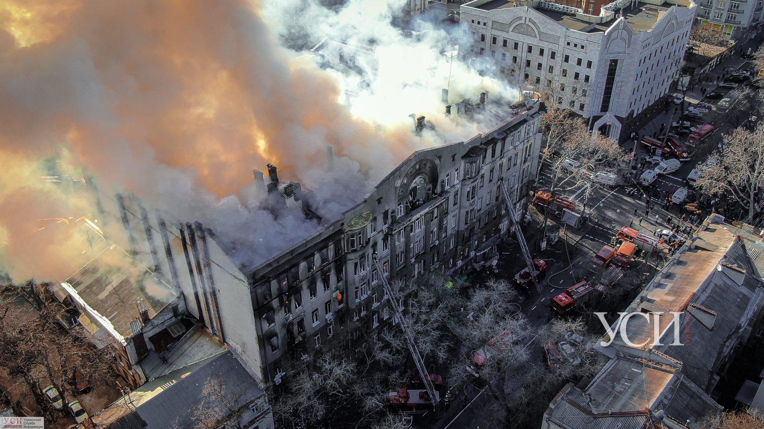 В мэрии изучают состояние сгоревшего здания на Троицкой: планировали еще полгода назад «фото»