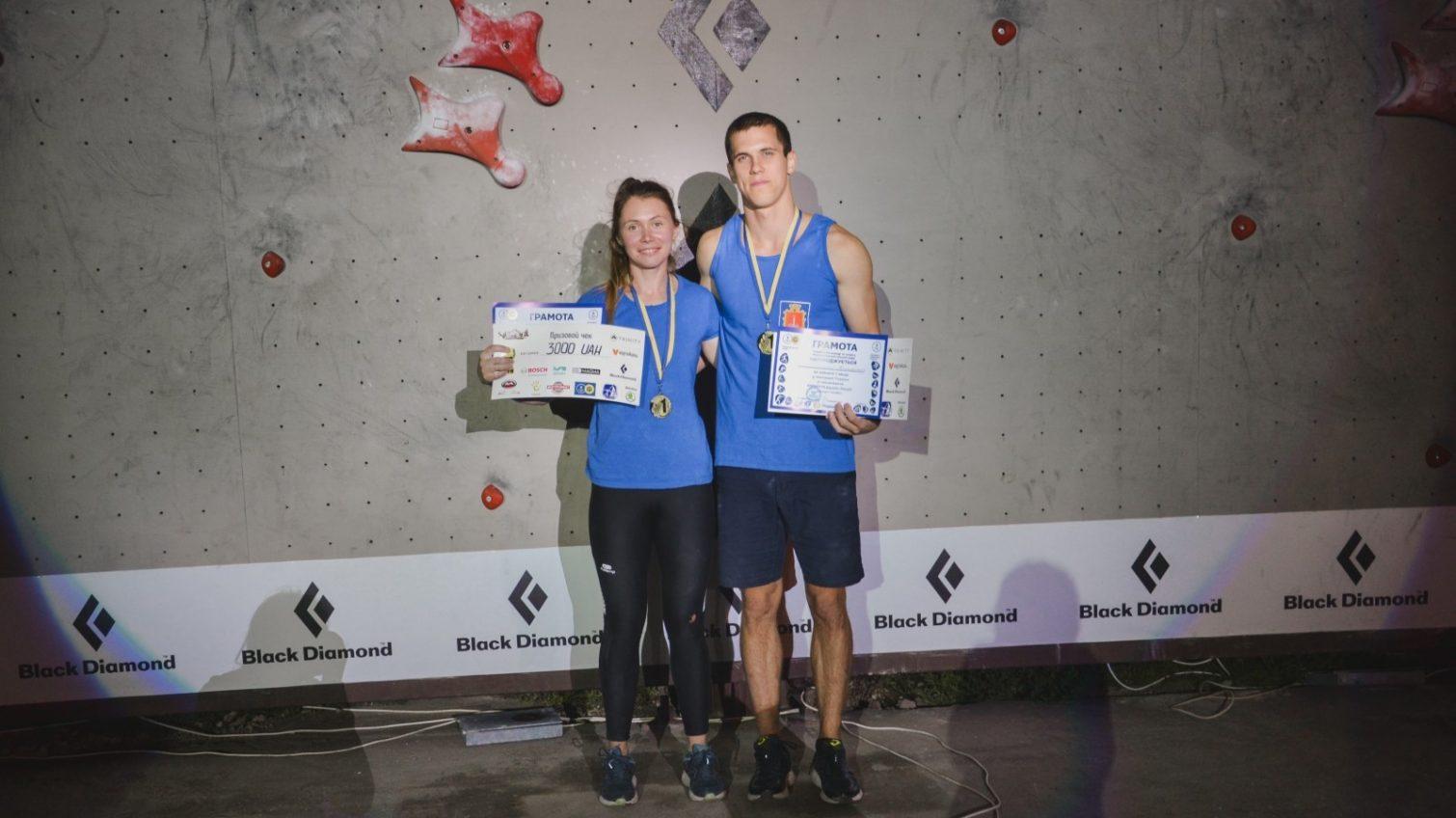 Одессит победил в Чемпионате Украины по скалолазанию «фото»