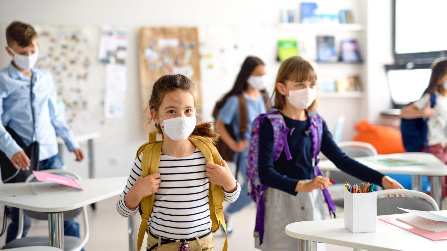 Карантинный учебный год: на урок без маски — можно, а по школе ходить — нельзя «фото»