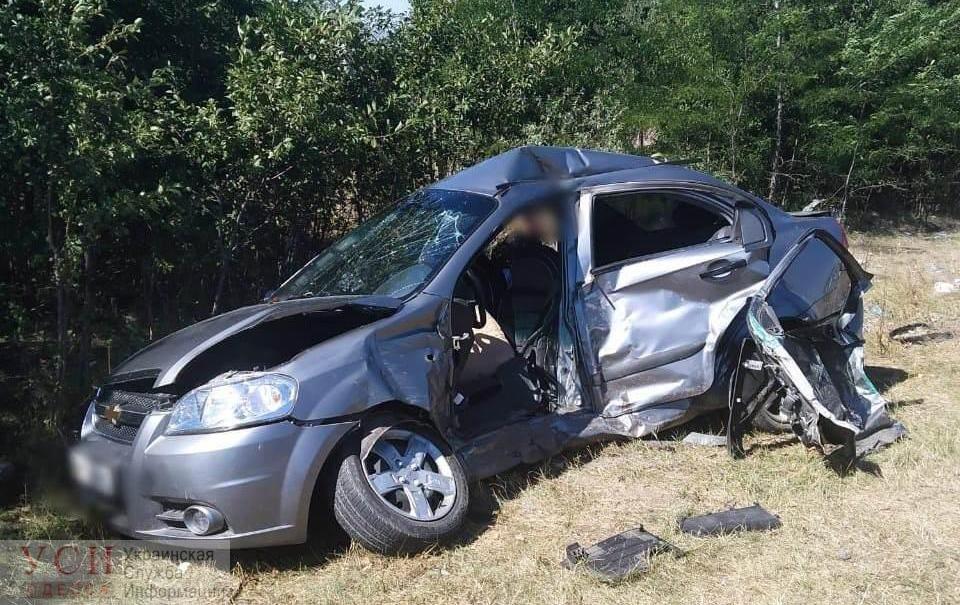 На трассе Одесса-Киев столкнулись две легковушки: погиб водитель (фото) «фото»