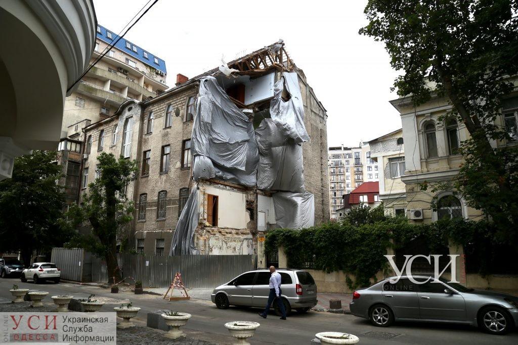 В обрушившемся доме на Ясной начнут демонтировать аварийную стену «фото»