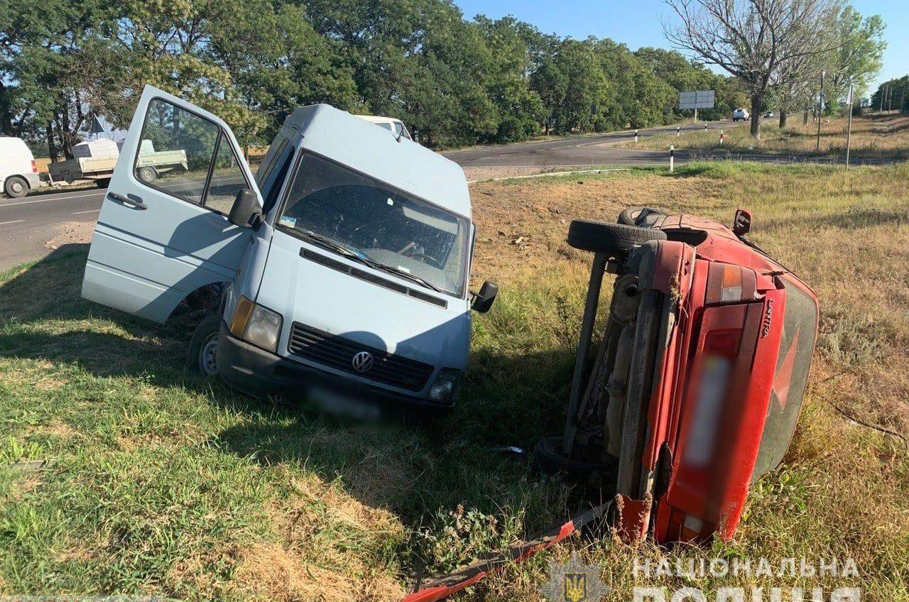 ДТП на трассе Одесса-Рени: пострадали двое (фото) «фото»
