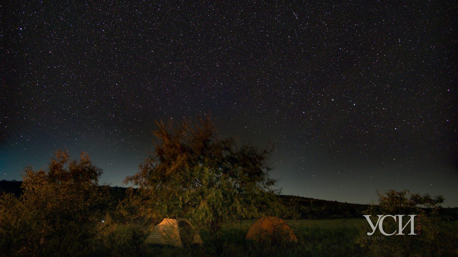 Поток Персеиды: невероятный вид звездопада на Куяльнике (фото) «фото»