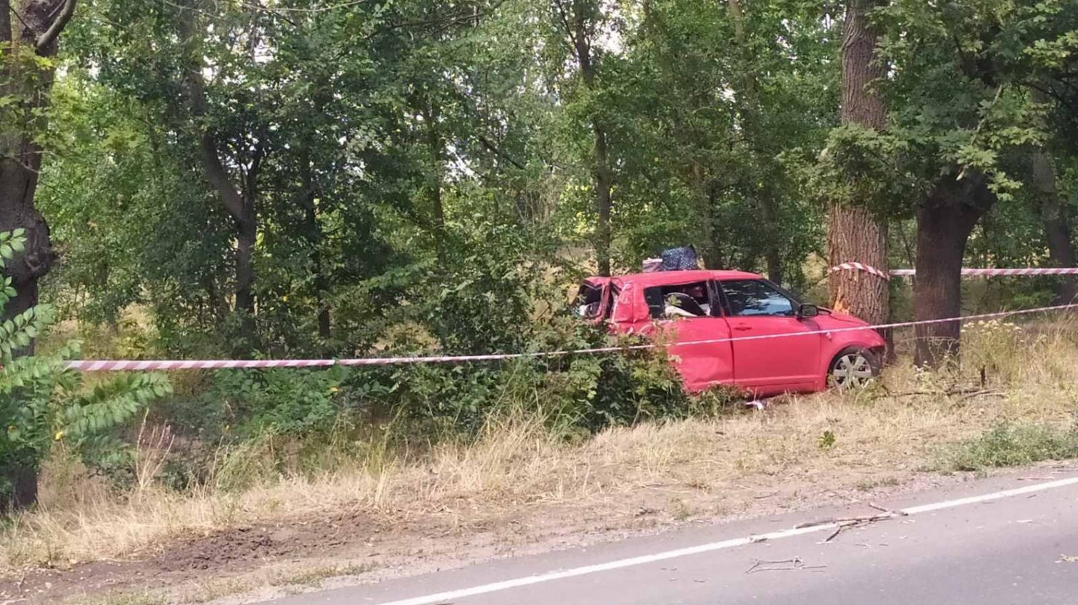Масштабное ДТП в Одесской области: легковушка вылетела в кювет (фото) «фото»
