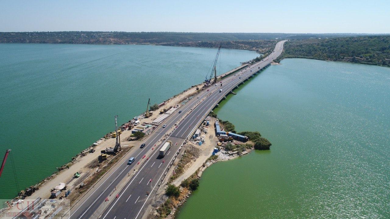 Хаджибейский мост стал пятиполосным (фото, видео) ОБНОВЛЕНО «фото»