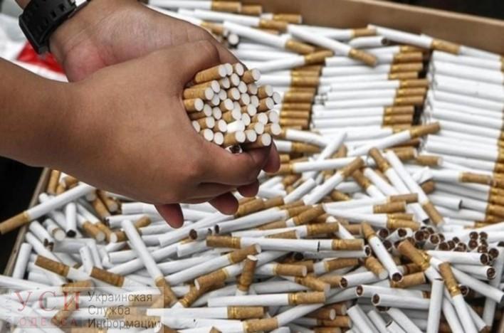 В Украину пытались незаконно ввезти сигарет на 20 млн грн, больше всего – через Одессу «фото»