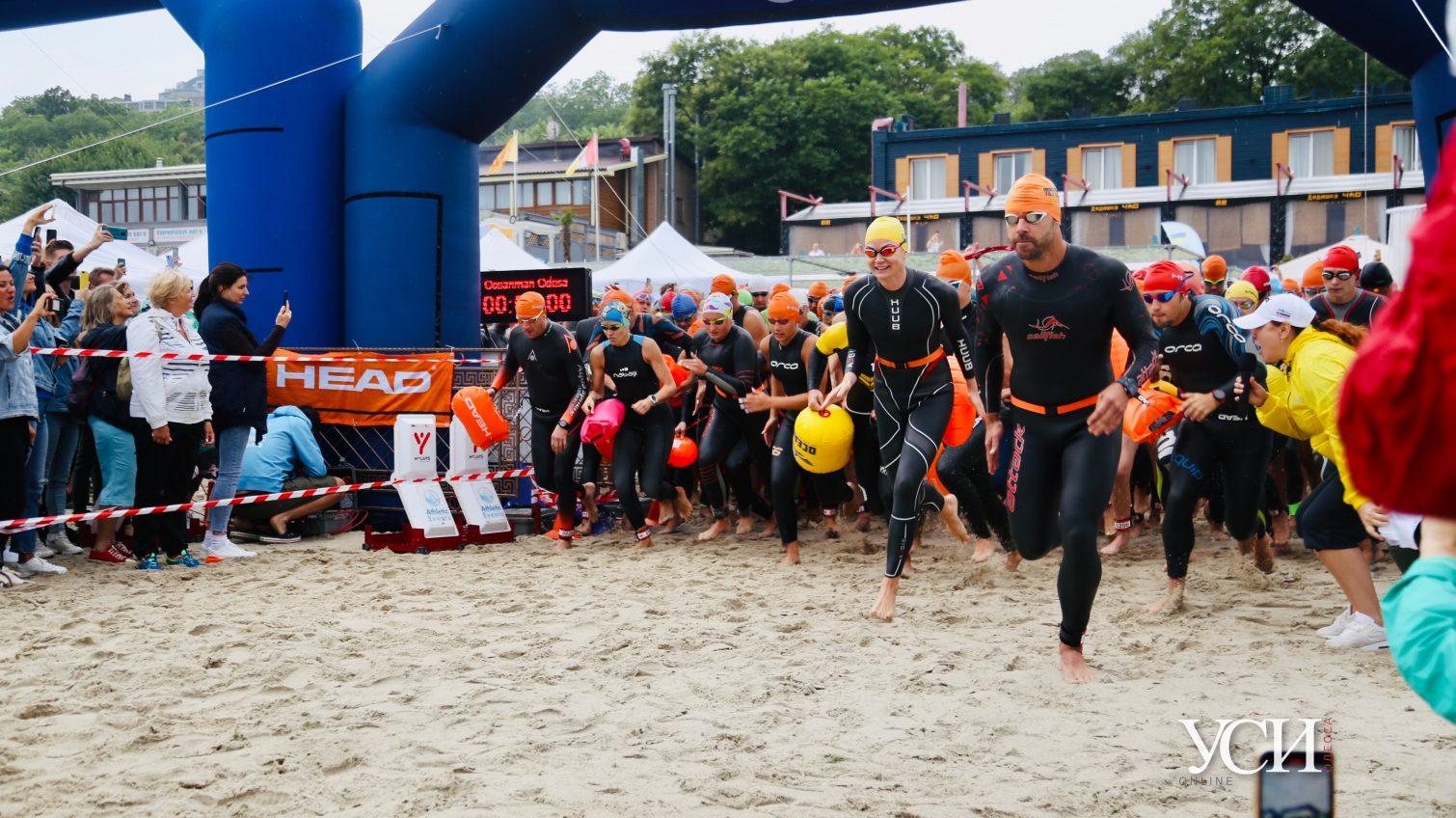 Oceanman Odessa-2020: непогода не помешала пловцам принять участие в соревнованиях (фоторепортаж) «фото»