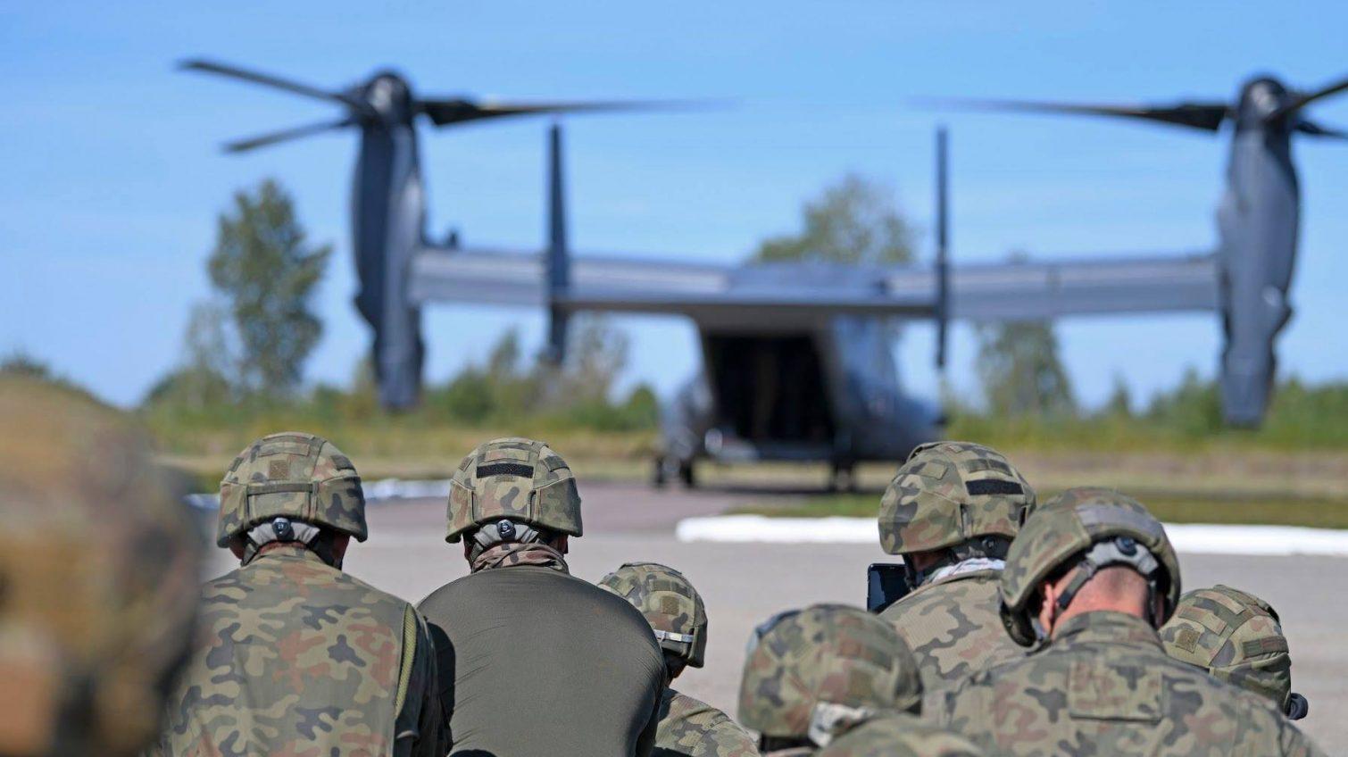 Американские и украинские военные проведут учения в небе над Одесской областью «фото»