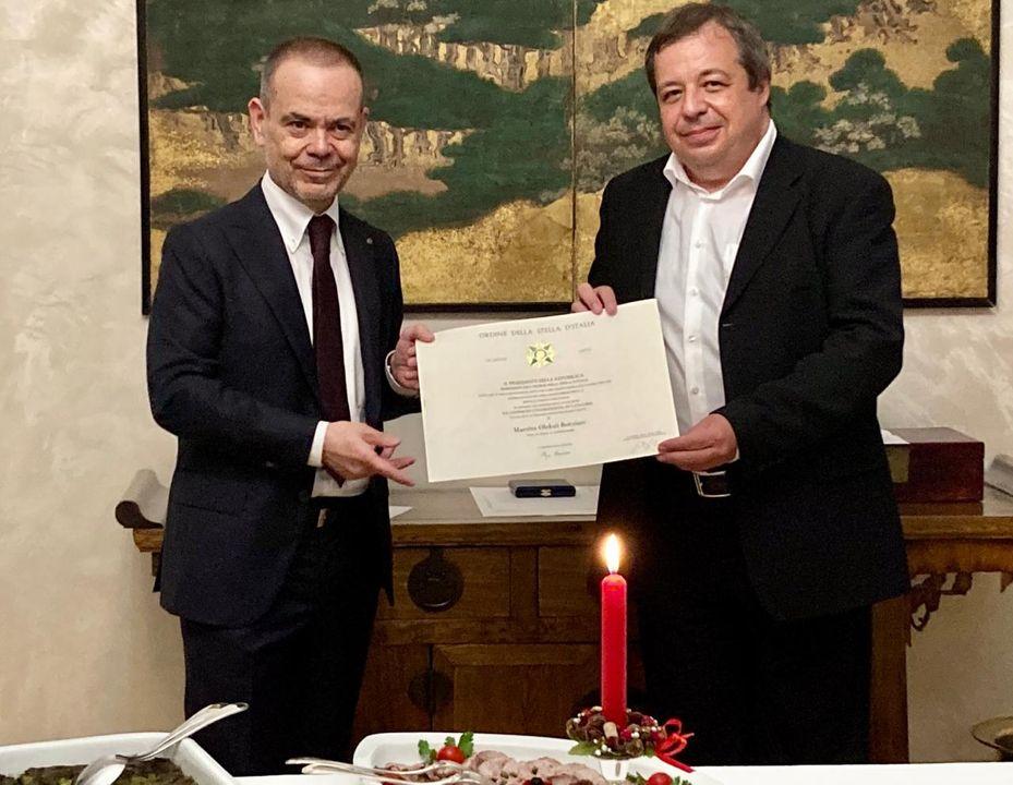 Всемирно известный пианист из Одессы Ботвинов получил орден Звезды Италии «фото»