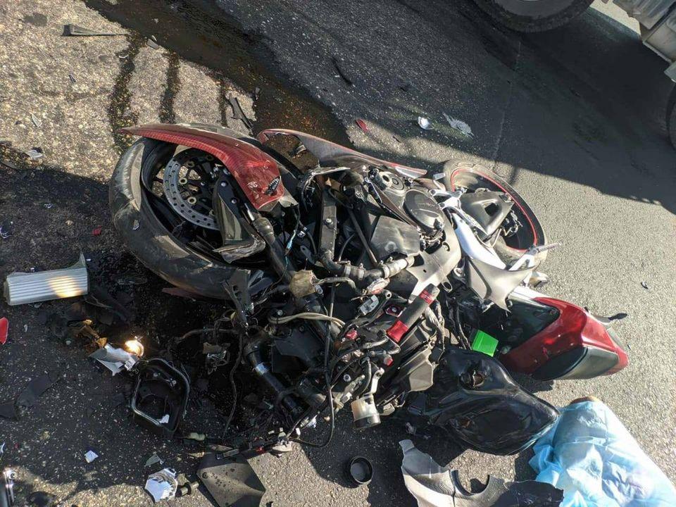 Под Одессой в ДТП погиб мотоциклист «фото»