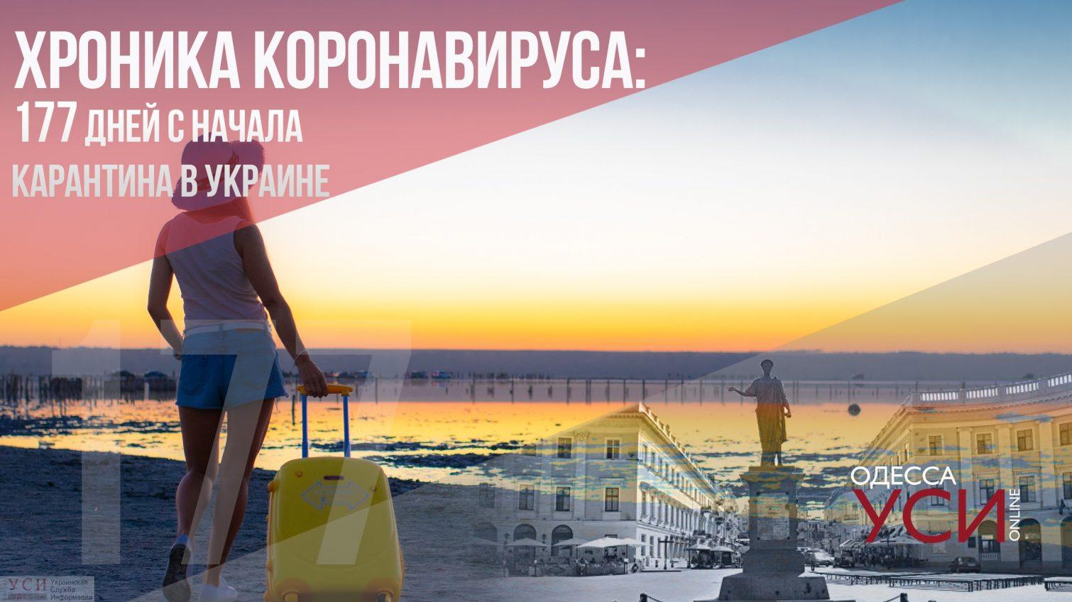 Хроника коронавируса: 177 дней с начала карантина в Украине «фото»