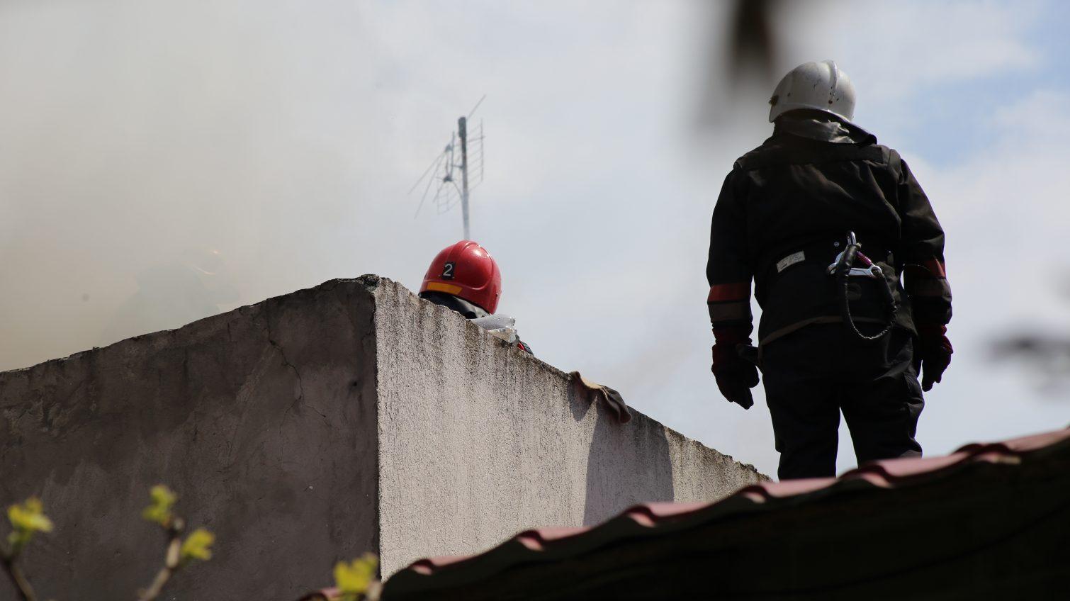В Болградском районе во время пожара пострадали супруги-пенсионеры «фото»
