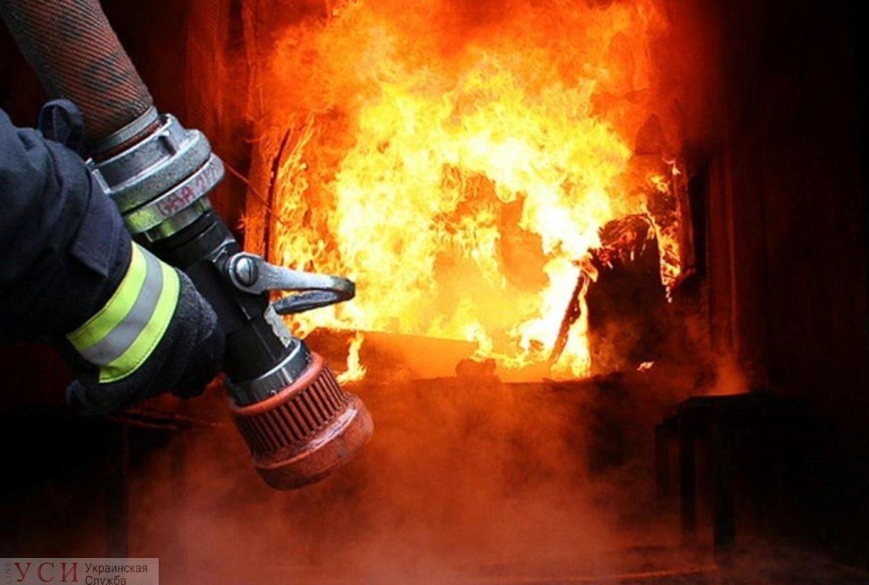 В Одесской области горел частный дом – пострадала женщина «фото»