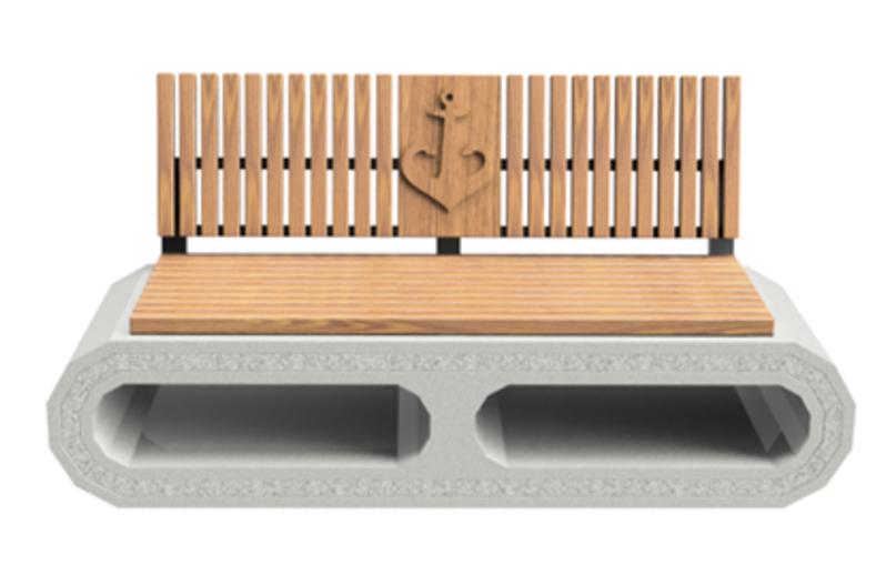 На одесском побережье установят 134 одинаковых лавочки из бетона и дерева по 10 тысяч за штуку (фото) «фото»