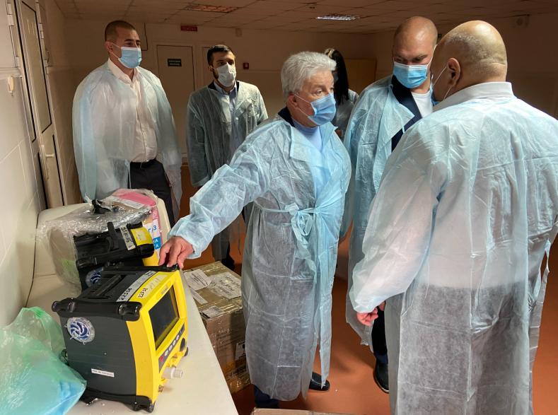 Одесской областной больнице передали 8 отремонтированных аппаратов ИВЛ «фото»