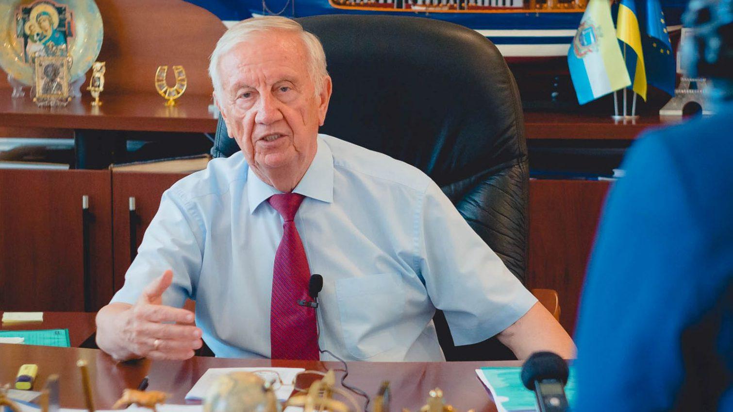Шестикратный мэр Черноморска больше не идет на выборы «фото»