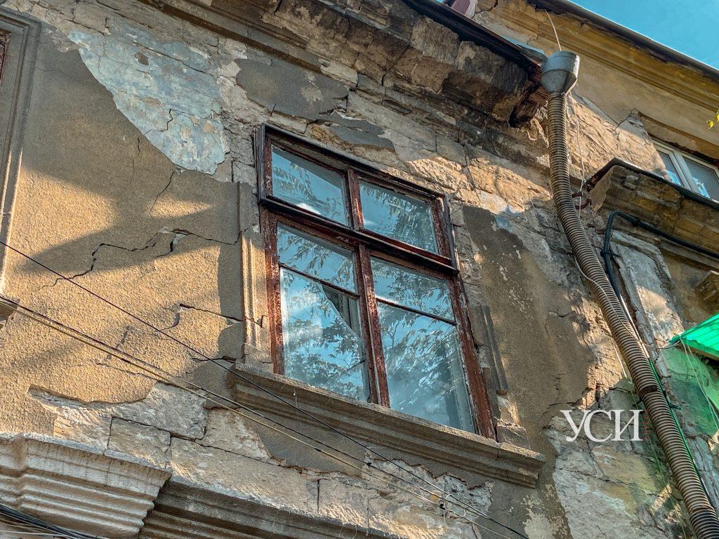 В центре Одессы разрушается еще один старинный дом