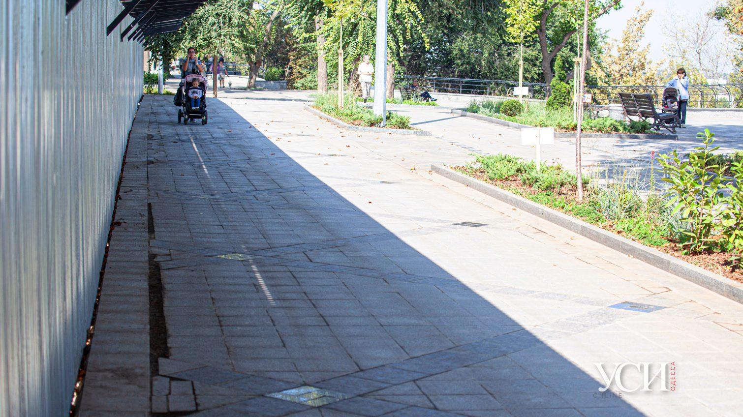 Инспекция отремонтированного бульвара Жванецкого: что осталось за кадром (фоторепортаж) «фото»