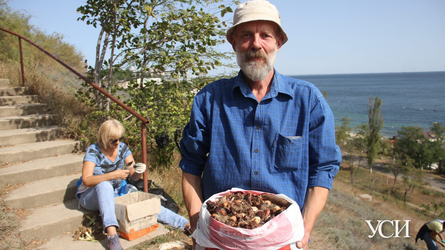 Мы начинали как зеленые партизаны, – одессит Владимир Яценко создает цветущие склоны (фото) «фото»