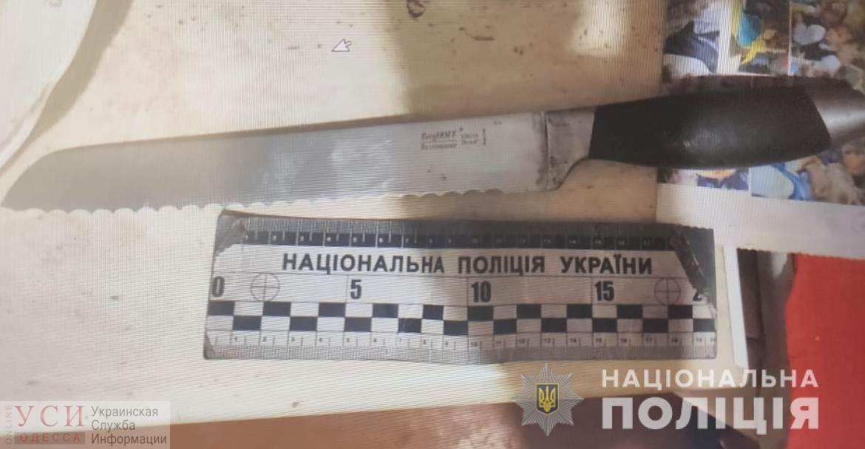 Не простил пьянства: житель Черноморска ударил отчима ножом в живот «фото»