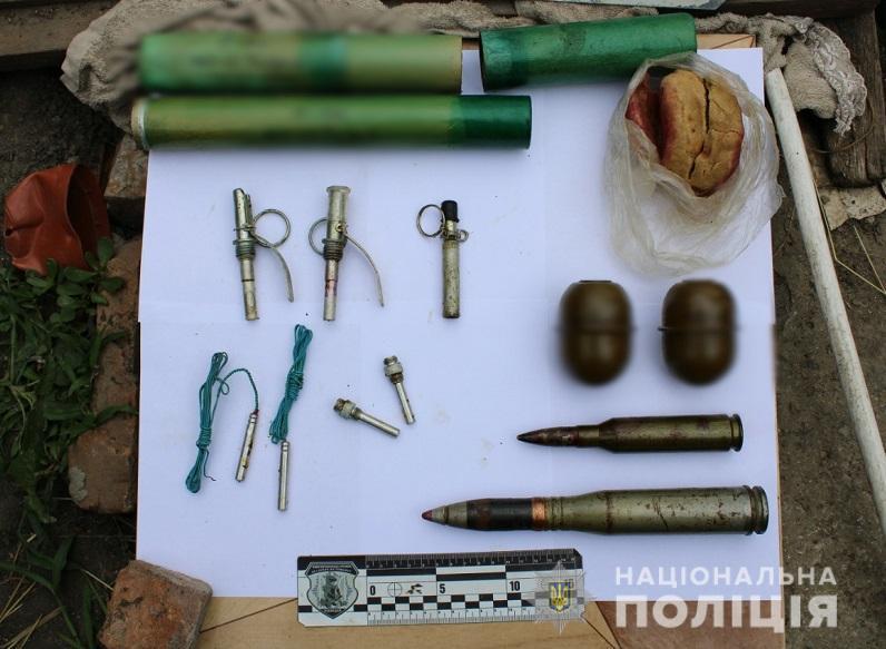 У жителя Кодымы нашли арсенал взрывчатых веществ (фото, видео) «фото»