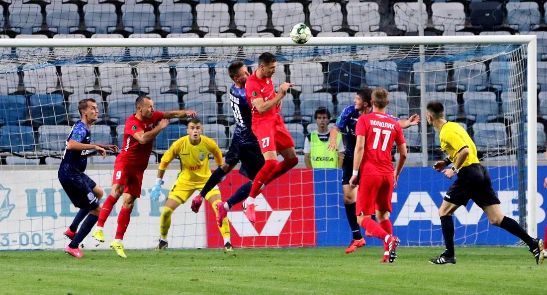 «Черноморец» обыгрывает прямого конкурента и остается лидером Первой лиги «фото»