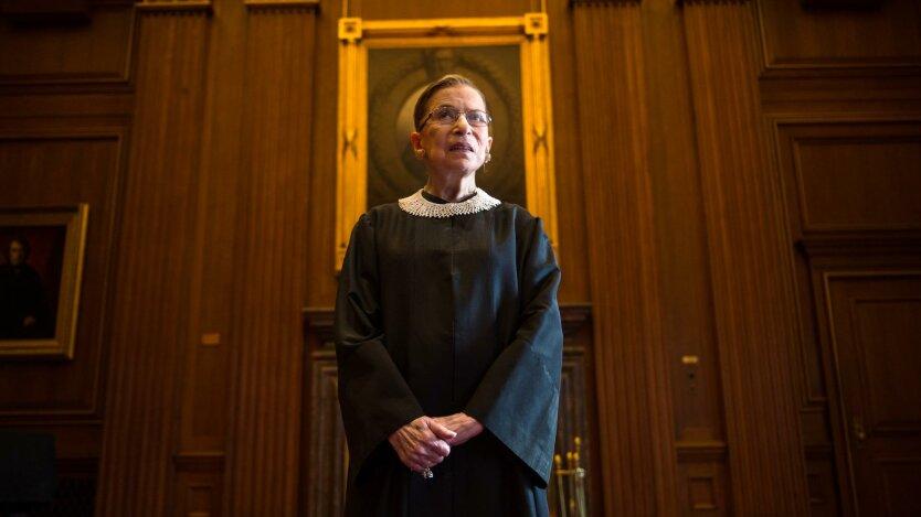В США простились с известной судьей Верховного суда: ее отец был эмигрантом из Одессы «фото»