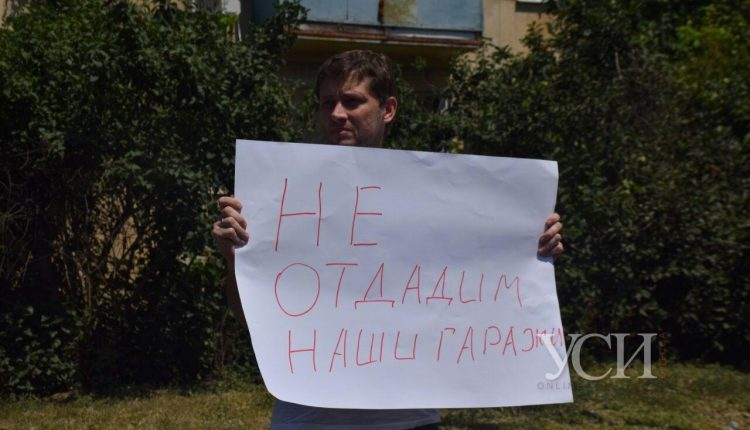«Кауфман решил отжать наши гаражи»: кооперативы протестуют против владельцев аэропорта (видео) «фото»