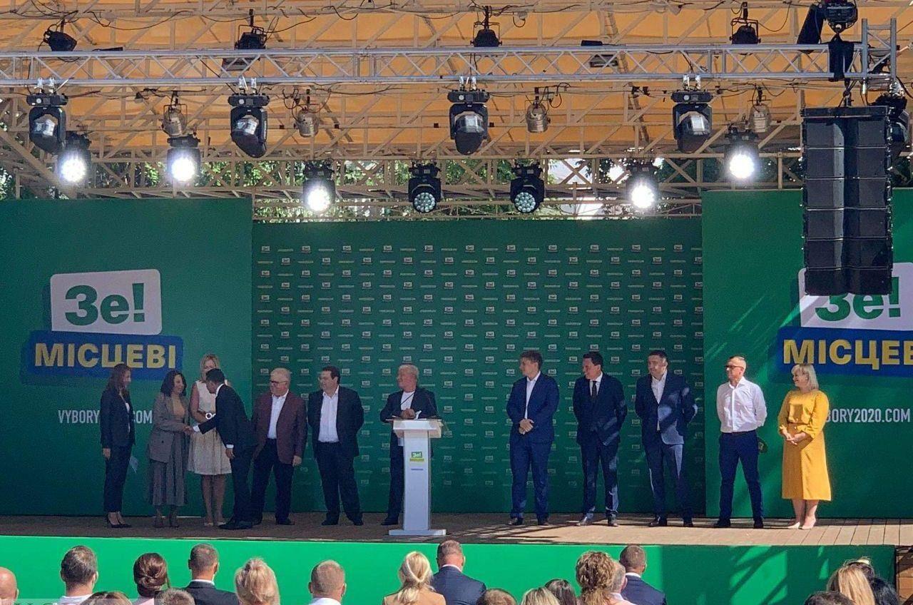 Стала известна одесская команда «Слуги народа» на местные выборы «фото»