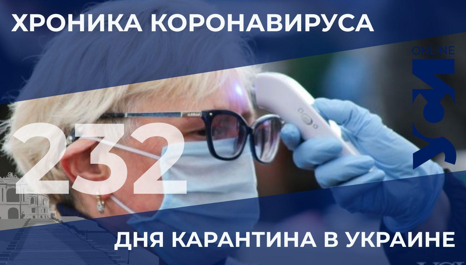 232 день карантина: новый антирекорд, более 8300 больных в Украине «фото»