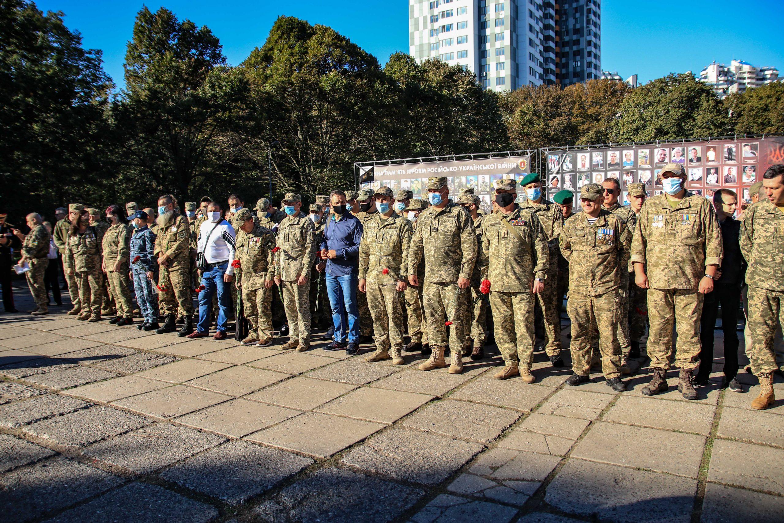 День защитника Украины: четвертый год родственники погибших в Одессе ждут Мемориал в честь воинов «фото»