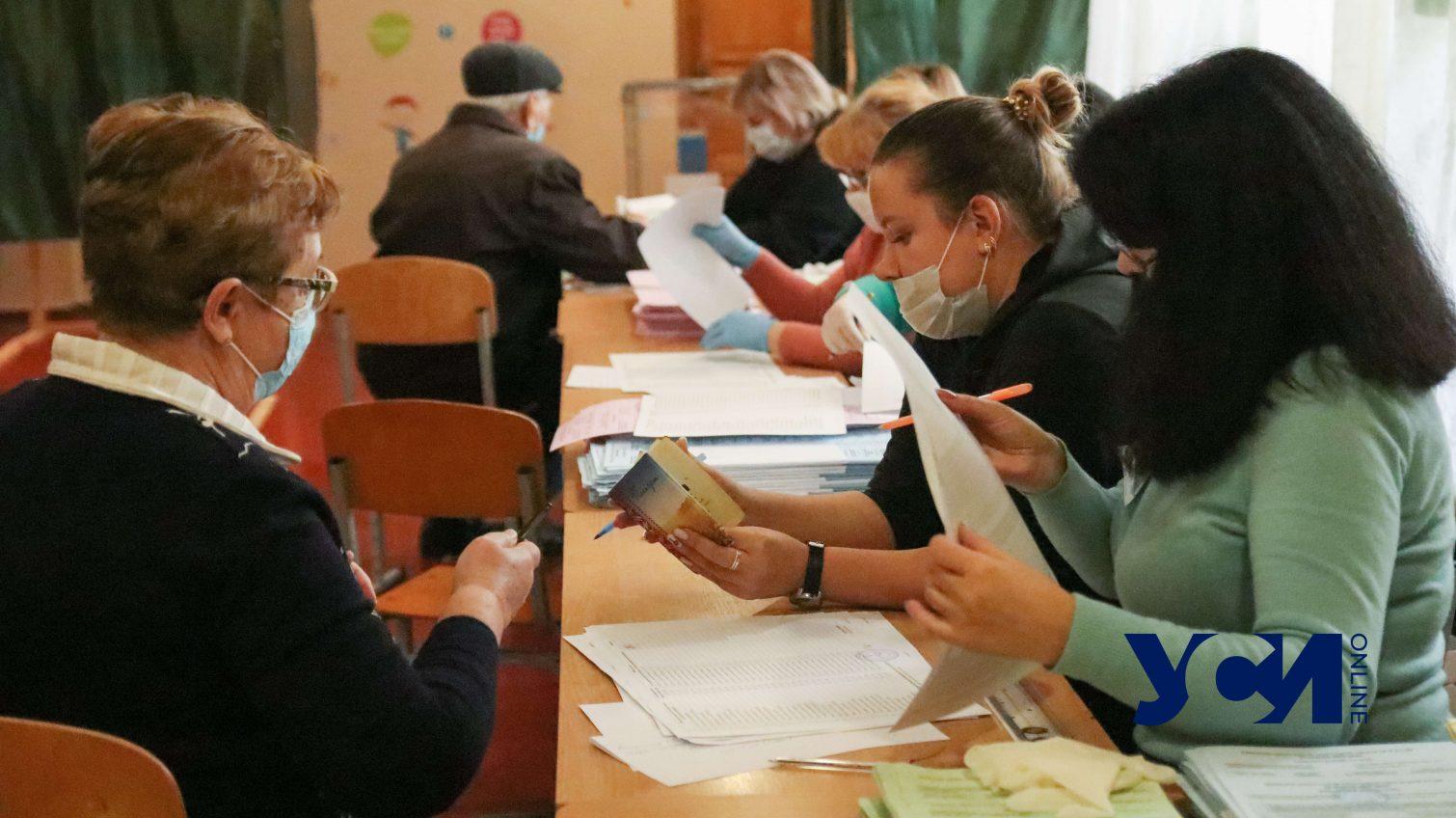 Все избирательные участки в Одесской области открыты «фото»