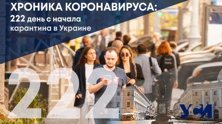 Хроника коронавируса: 222 день с начала карантина в Украине «фото»