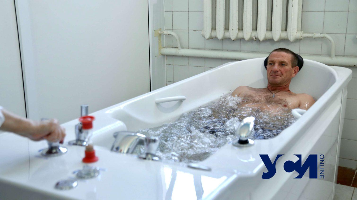 Оздоровление военных: в санатории «Одесский» – новое оборудование (фоторепортаж) «фото»