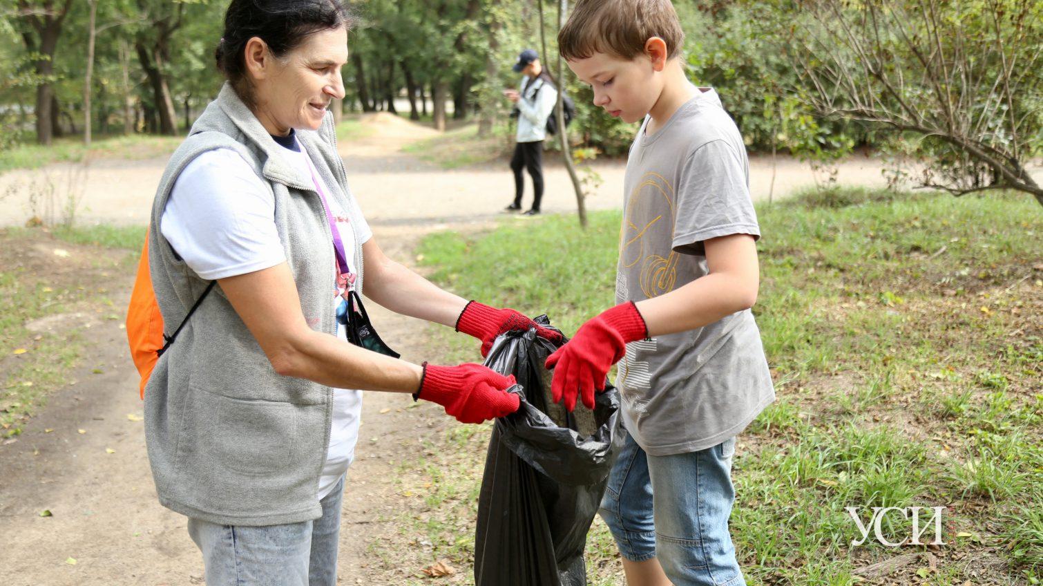 «Супер-субботник»: одесситы провели уборку в парке Шевченко (фото) «фото»